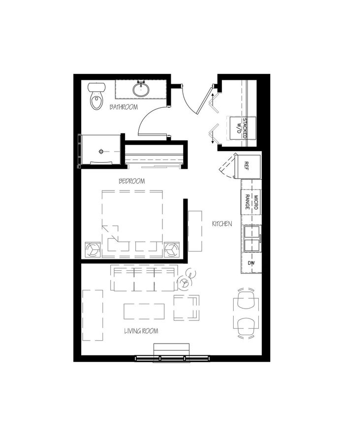 Studio 1 Bathroom Apartment for rent at Esser Place in Cross Plains, WI