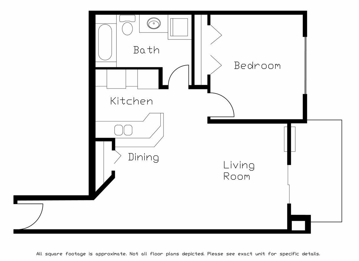 1 Bedroom 1 Bathroom Apartment for rent at Gateway Commons in Sun Prairie, WI
