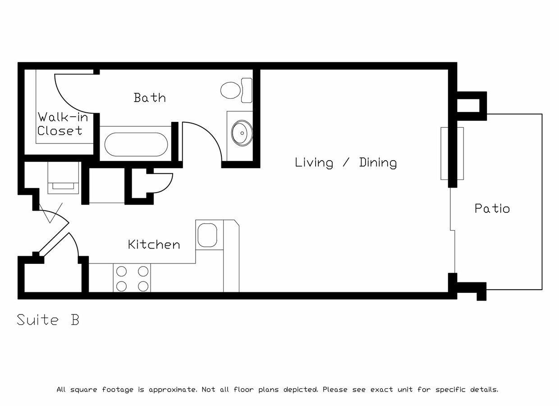 Studio 1 Bathroom Apartment for rent at Hawks Ridge in Madison, WI