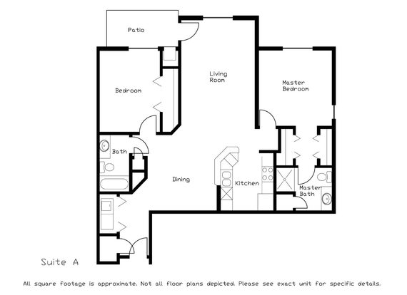 2 Bedrooms 2 Bathrooms Apartment for rent at Hawks Ridge in Madison, WI