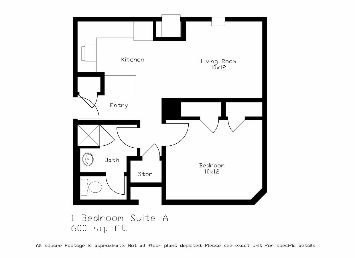 1 Bedroom 1 Bathroom Apartment for rent at Laville in Madison, WI