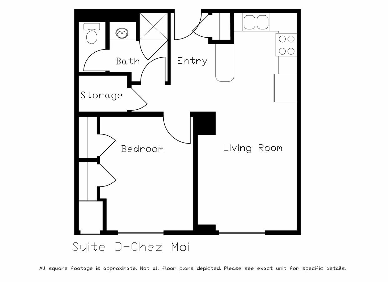 1 Bedroom 1 Bathroom Apartment for rent at LaCiel in Madison, WI