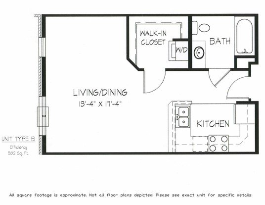 Studio 1 Bathroom Apartment for rent at Jupiter Crossing of Grandview Commons in Madison, WI