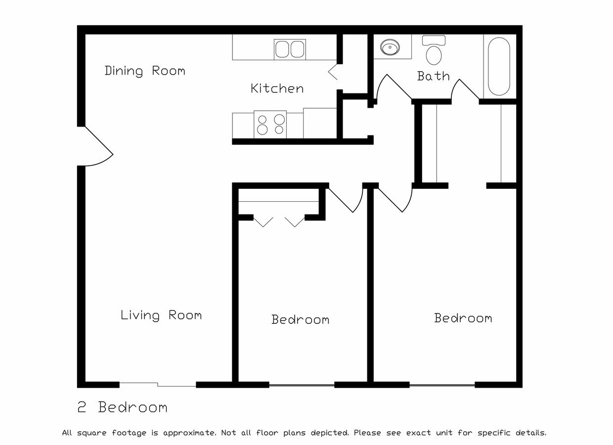 2 Bedrooms 1 Bathroom Apartment for rent at Tree Lane Park Apartments in Madison, WI