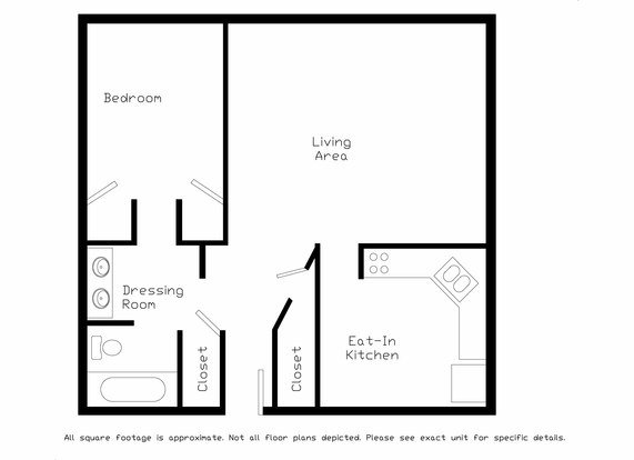 1 Bedroom 1 Bathroom Apartment for rent at Cambridge Place Apartments in Madison, WI