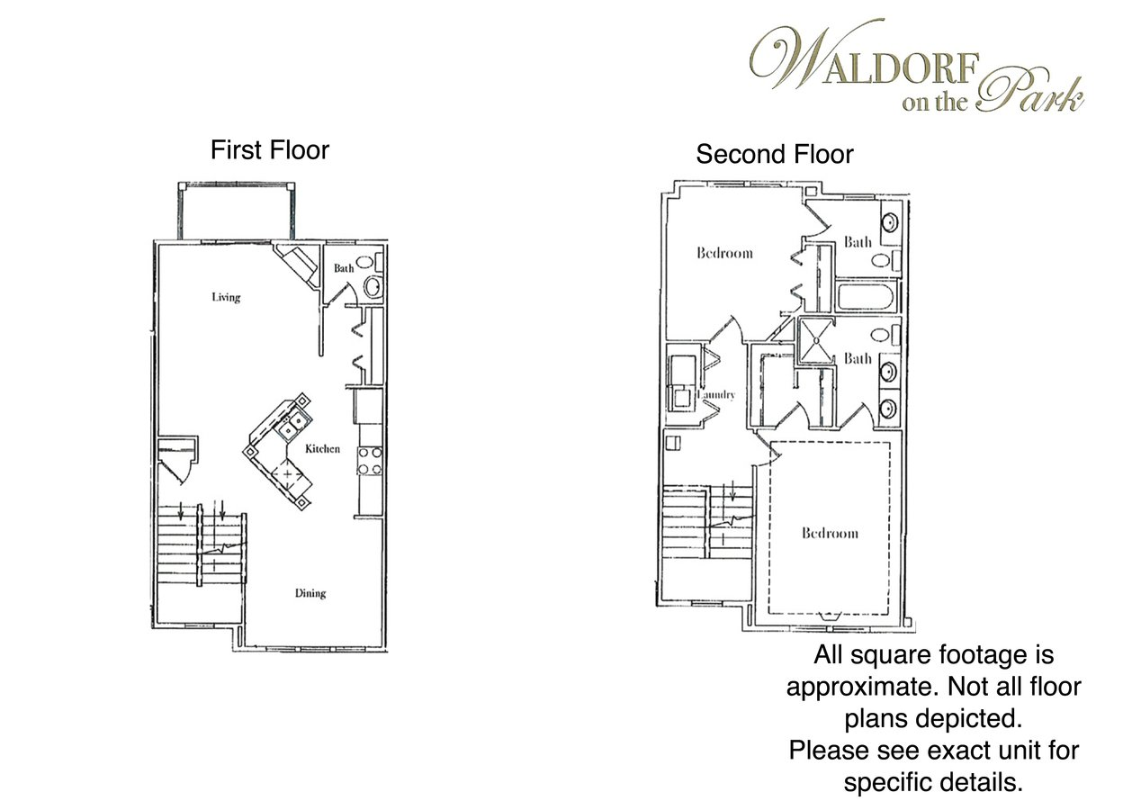 2 Bedrooms 2 Bathrooms Apartment for rent at Waldorf on the Park in Madison, WI