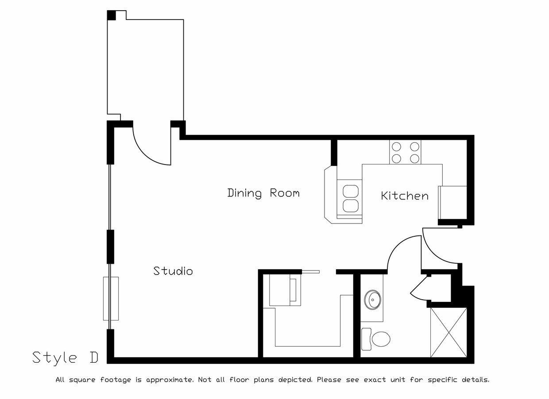 Studio 1 Bathroom Apartment for rent at Prairie Ridge in Madison, WI