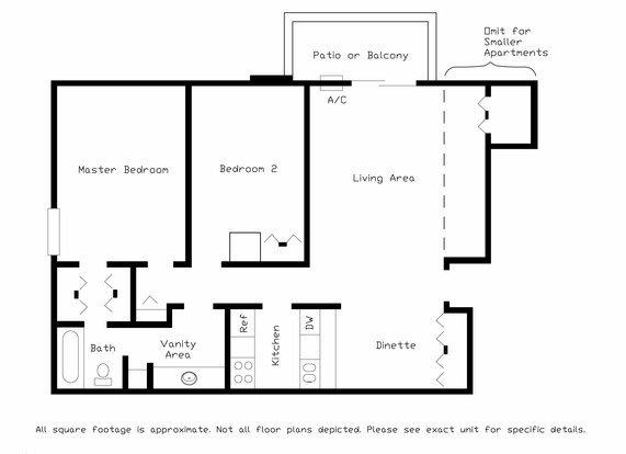 2 Bedrooms 1 Bathroom Apartment for rent at Cedar Crest in Middleton, WI