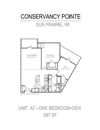 2 Bedrooms 1 Bathroom Apartment for rent at Conservancy Pointe in Sun Prairie, WI