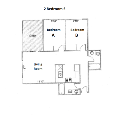 2 Bedrooms 2 Bathrooms Apartment for rent at Ph Apartments in Madison, WI