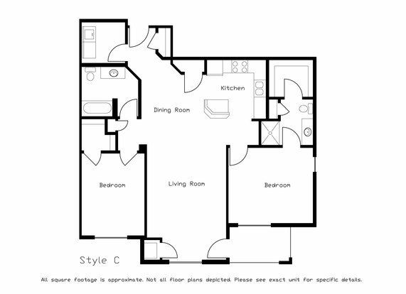 2 Bedrooms 2 Bathrooms Apartment for rent at Prairie Ridge in Madison, WI