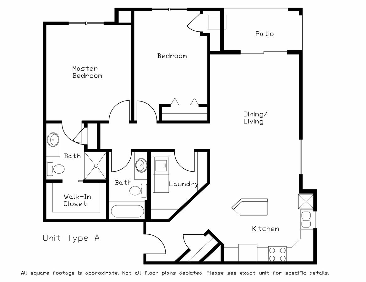 2 Bedrooms 2 Bathrooms Apartment for rent at Highland Fields in Deforest, WI