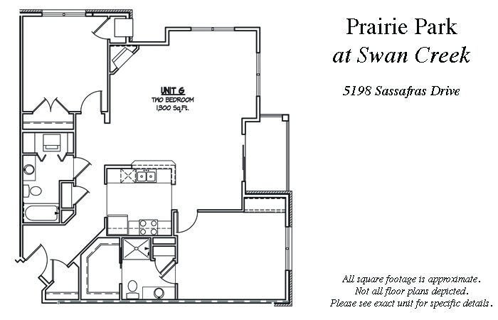 2 Bedrooms 2 Bathrooms Apartment for rent at Prairie Park in Fitchburg, WI