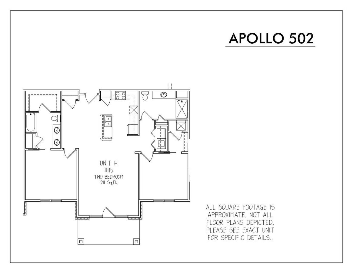2 Bedrooms 2 Bathrooms Apartment for rent at Apollo 502 in Madison, WI