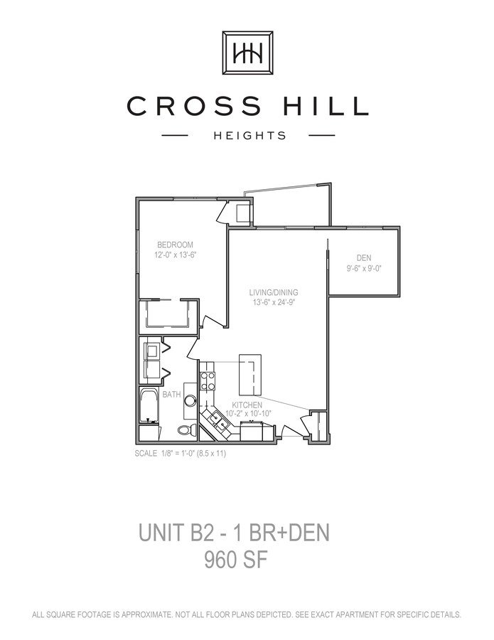 1 Bedroom 1 Bathroom Apartment for rent at Cross Hill Heights in Madison, WI
