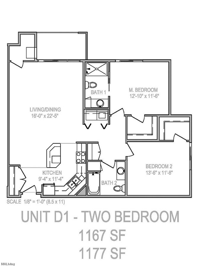 2 Bedrooms 2 Bathrooms Apartment for rent at Grand Arbor Reserve in Madison, WI