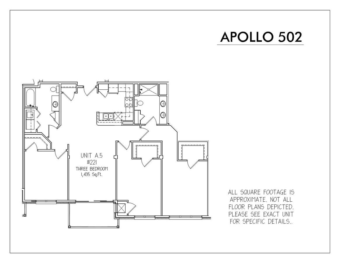 3 Bedrooms 2 Bathrooms Apartment for rent at Apollo 502 in Madison, WI