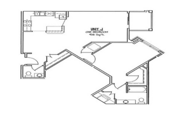 1 Bedroom 1 Bathroom Apartment for rent at The Preserve At Swan Creek in Fitchburg, WI
