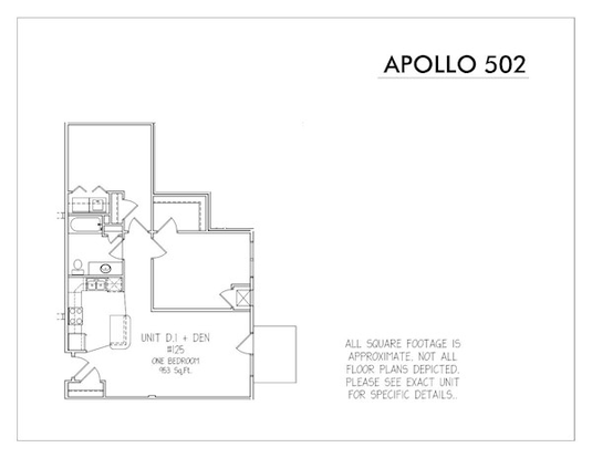 2 Bedrooms 1 Bathroom Apartment for rent at Apollo 502 in Madison, WI