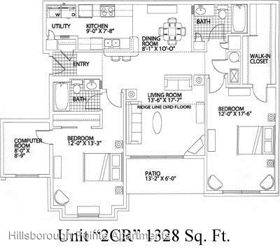 2 Bedrooms 2 Bathrooms Apartment for rent at Hillsborough Pointe 14441 Sprague Ct in Omaha, NE