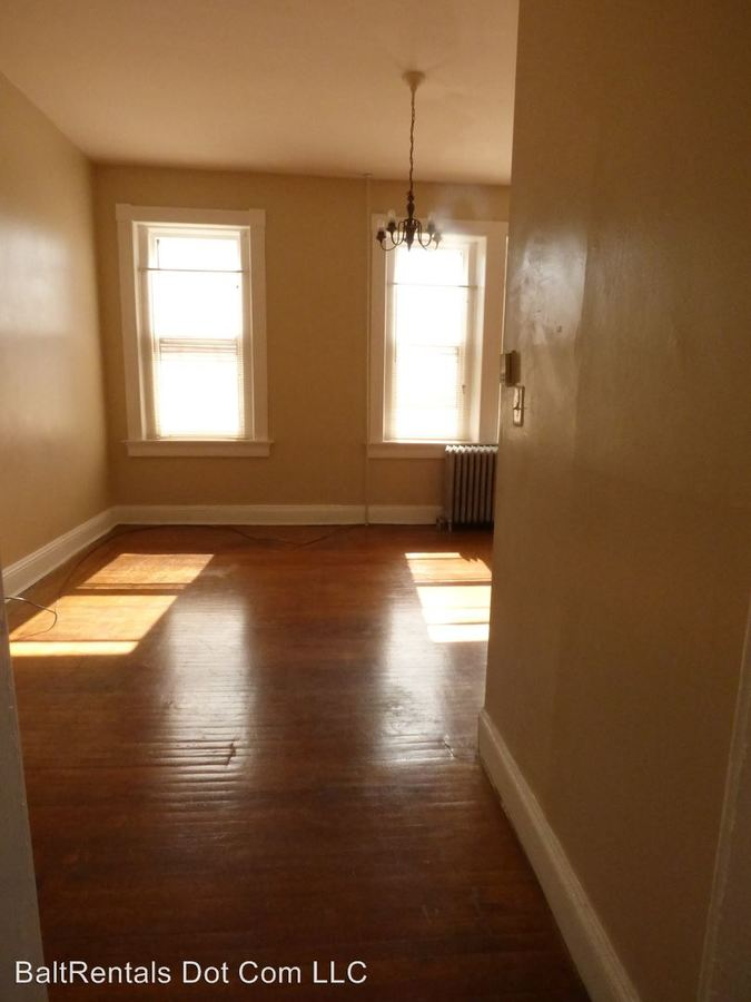 1 Bedroom 1 Bathroom Apartment for rent at 1735 Bolton Street in Baltimore, MD
