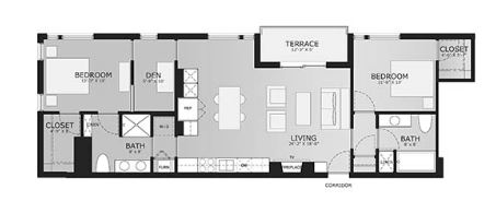 2 Bedrooms 2 Bathrooms Apartment for rent at Sage On Jackson in Milwaukee, WI