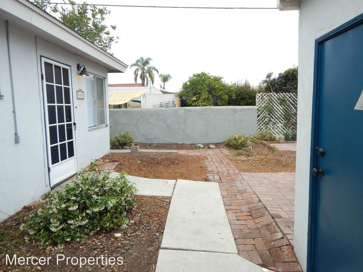 1 Bedroom 1 Bathroom Apartment for rent at 4455 Swift Ave in San Diego, CA