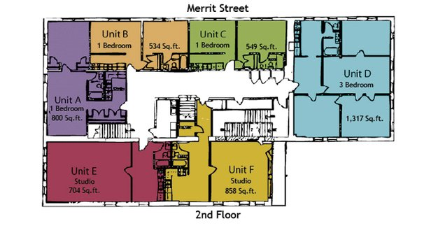 1 Bedroom 1 Bathroom Apartment for rent at Bent Block Apartments in Oshkosh, WI