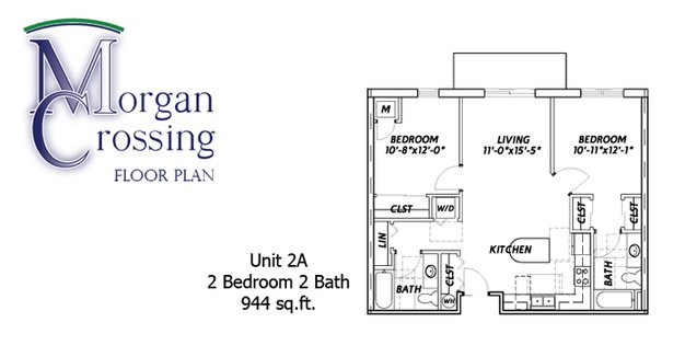 2 Bedrooms 2 Bathrooms Apartment for rent at Morgan Crossing Apartments in Oshkosh, WI