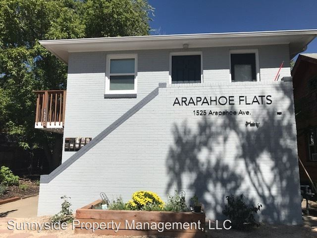1 Bedroom 1 Bathroom Apartment for rent at 1525 Arapahoe Avenue in Boulder, CO