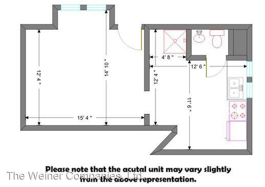 Studio 1 Bathroom Apartment for rent at 704 W. Nevada in Urbana, IL