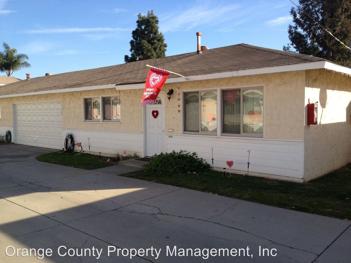 2 Bedrooms 1 Bathroom Apartment for rent at 8626-50 Watson Street in Cypress, CA