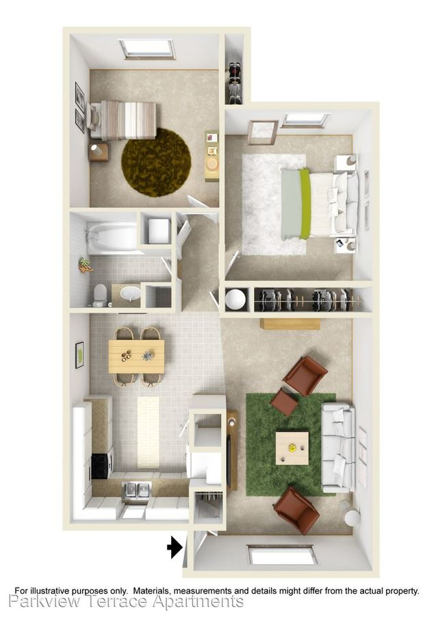 2 Bedrooms 1 Bathroom Apartment for rent at 1300 Milky Way in Thornton, CO