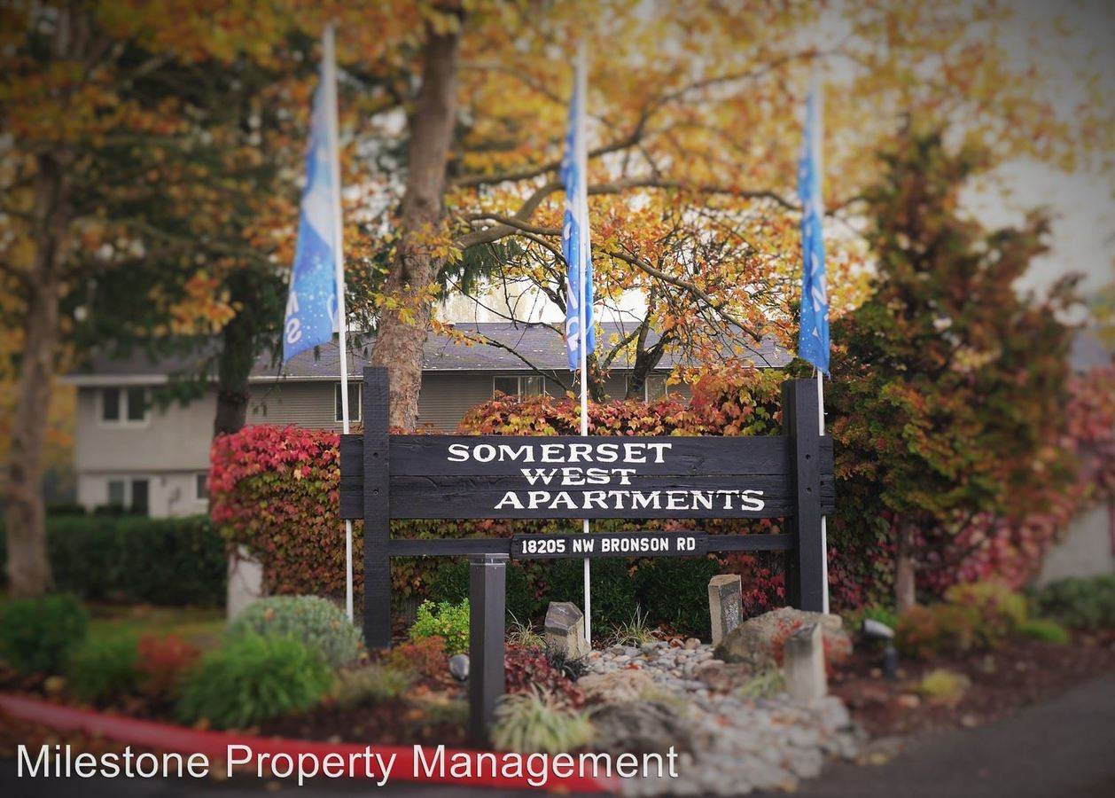 Studio 1 Bathroom Apartment for rent at Somerset West 18205 Nw Bronson Road in Portland, OR