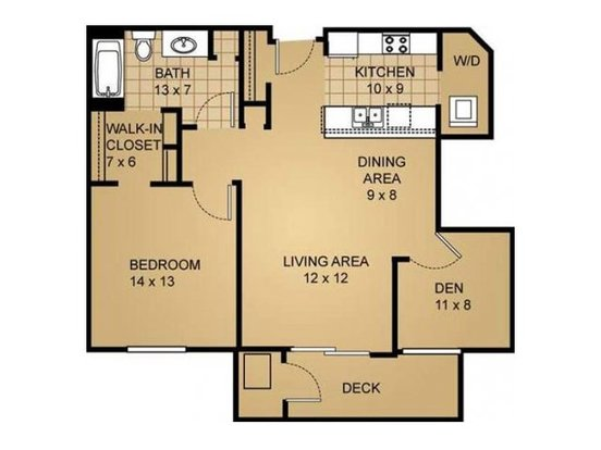 1 Bedroom 1 Bathroom Apartment for rent at Saddle Brook in Pewaukee, WI