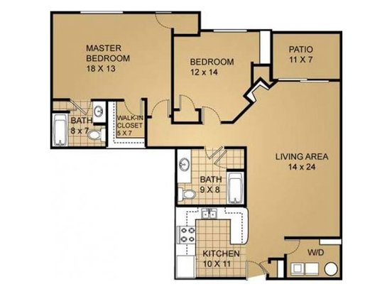 2 Bedrooms 2 Bathrooms Apartment for rent at Saddle Brook in Pewaukee, WI