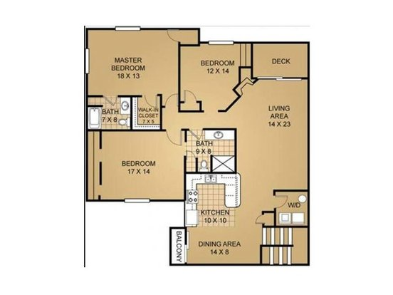 3 Bedrooms 2 Bathrooms Apartment for rent at Saddle Brook in Pewaukee, WI