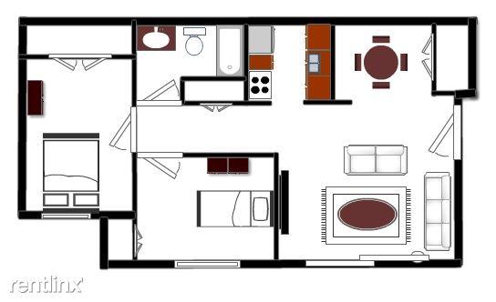 2 Bedrooms 1 Bathroom House for rent at Hidden Glen Apartments in Laingsburg, MI