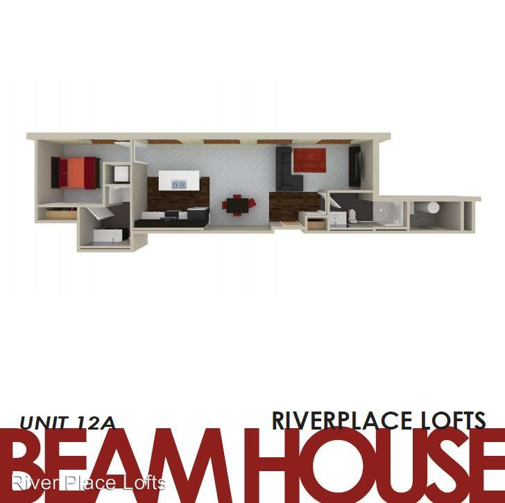 1 Bedroom 2 Bathrooms Apartment for rent at River Place Lofts in Milwaukee, WI