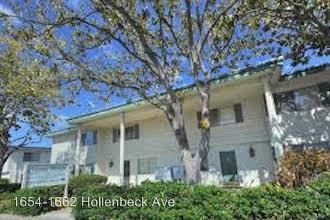 2 Bedrooms 1 Bathroom Apartment for rent at 1654-1662 Hollenbeck Ave. in Sunnyvale, CA