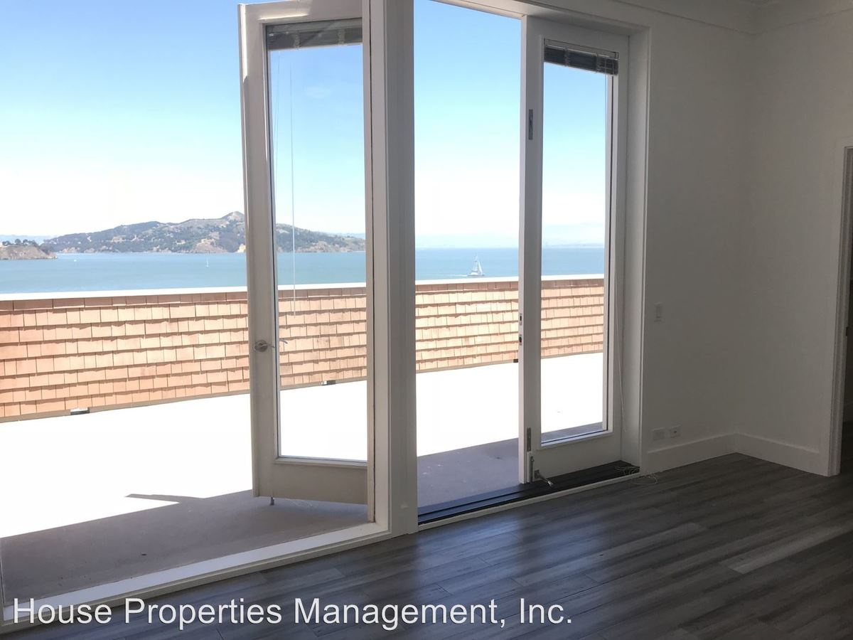 3 Bedrooms 2 Bathrooms Apartment for rent at 77 Bulkley Avenue in Sausalito, CA