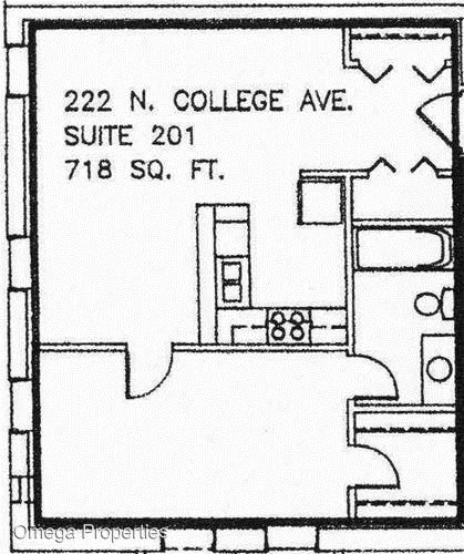 1 Bedroom 1 Bathroom Apartment for rent at 222 N. College Ave. in Bloomington, IN