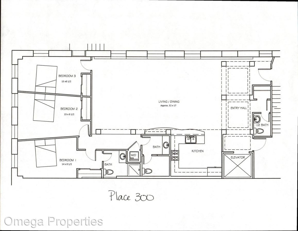 3 Bedrooms 2 Bathrooms Apartment for rent at 222 N. College Ave. in Bloomington, IN
