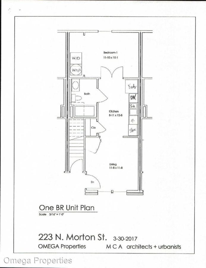 1 Bedroom 1 Bathroom Apartment for rent at 223 N Morton St in Bloomington, IN