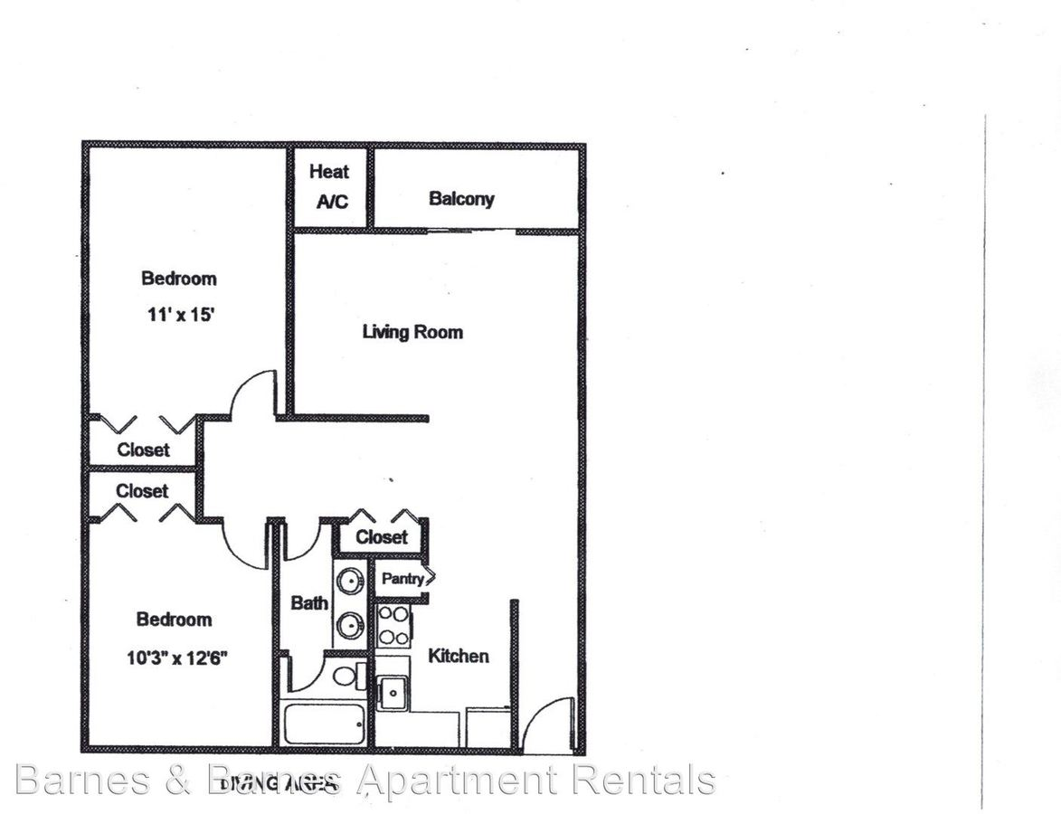 2 Bedrooms 1 Bathroom Apartment for rent at 334 Jarvis in Ypsilanti, MI