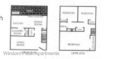 3 Bedrooms 2 Bathrooms Apartment for rent at 120 E Grace Place in Denver, CO