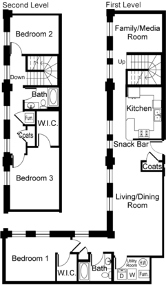 3 Bedrooms 2 Bathrooms Apartment for rent at The Grand Wisconsin in Milwaukee, WI