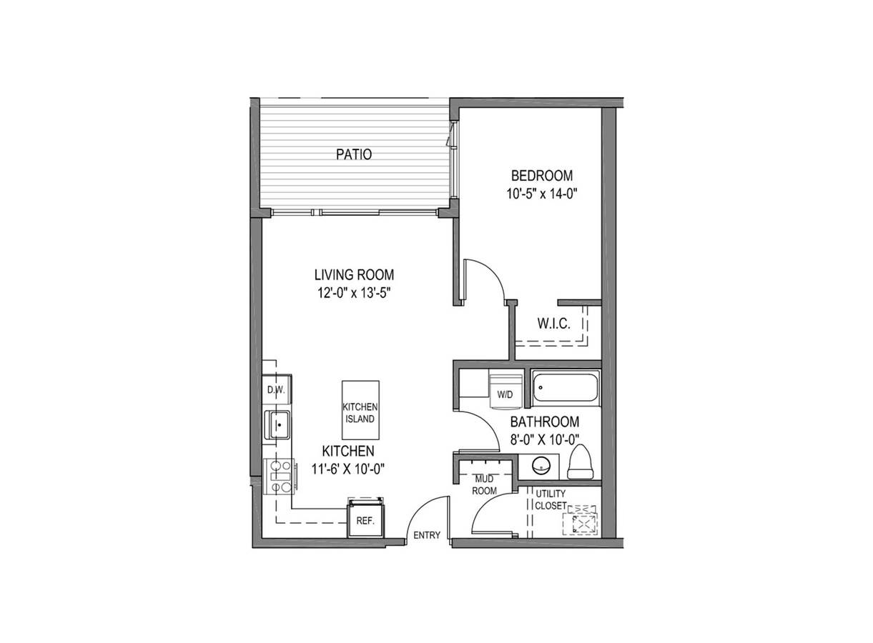 1 Bedroom 1 Bathroom Apartment for rent at The Quin Apartments in Milwaukee, WI