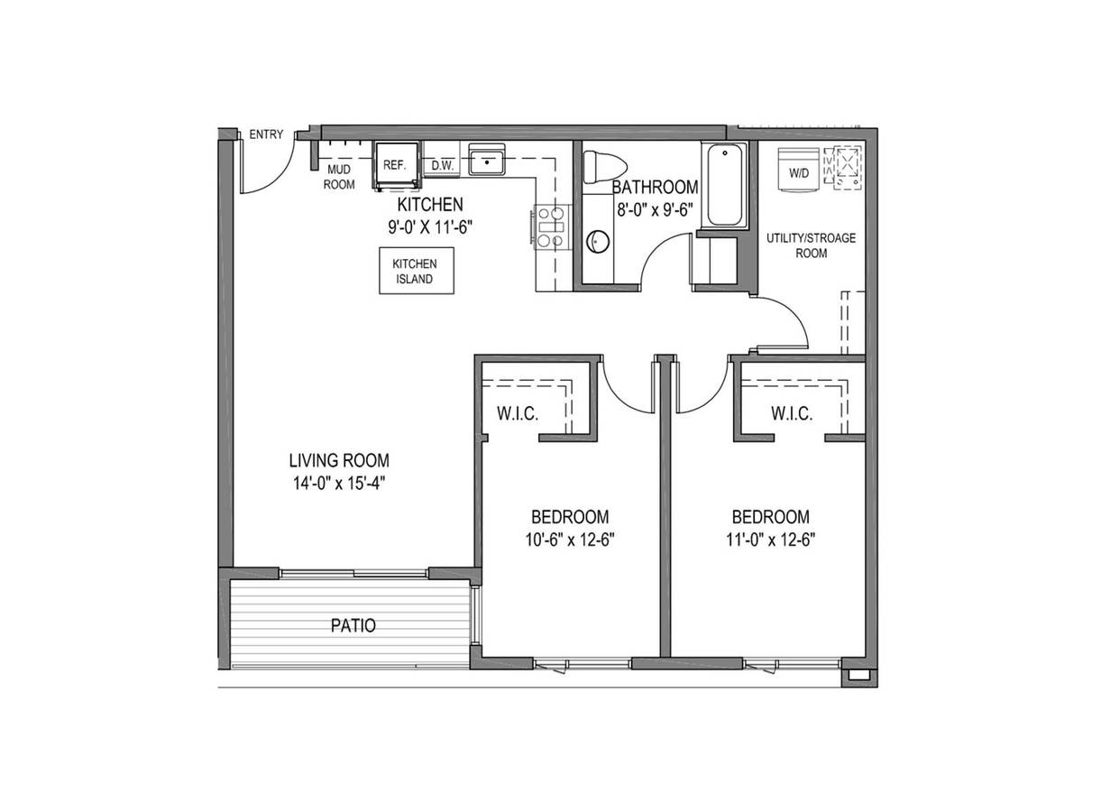 2 Bedrooms 2 Bathrooms Apartment for rent at The Quin Apartments in Milwaukee, WI