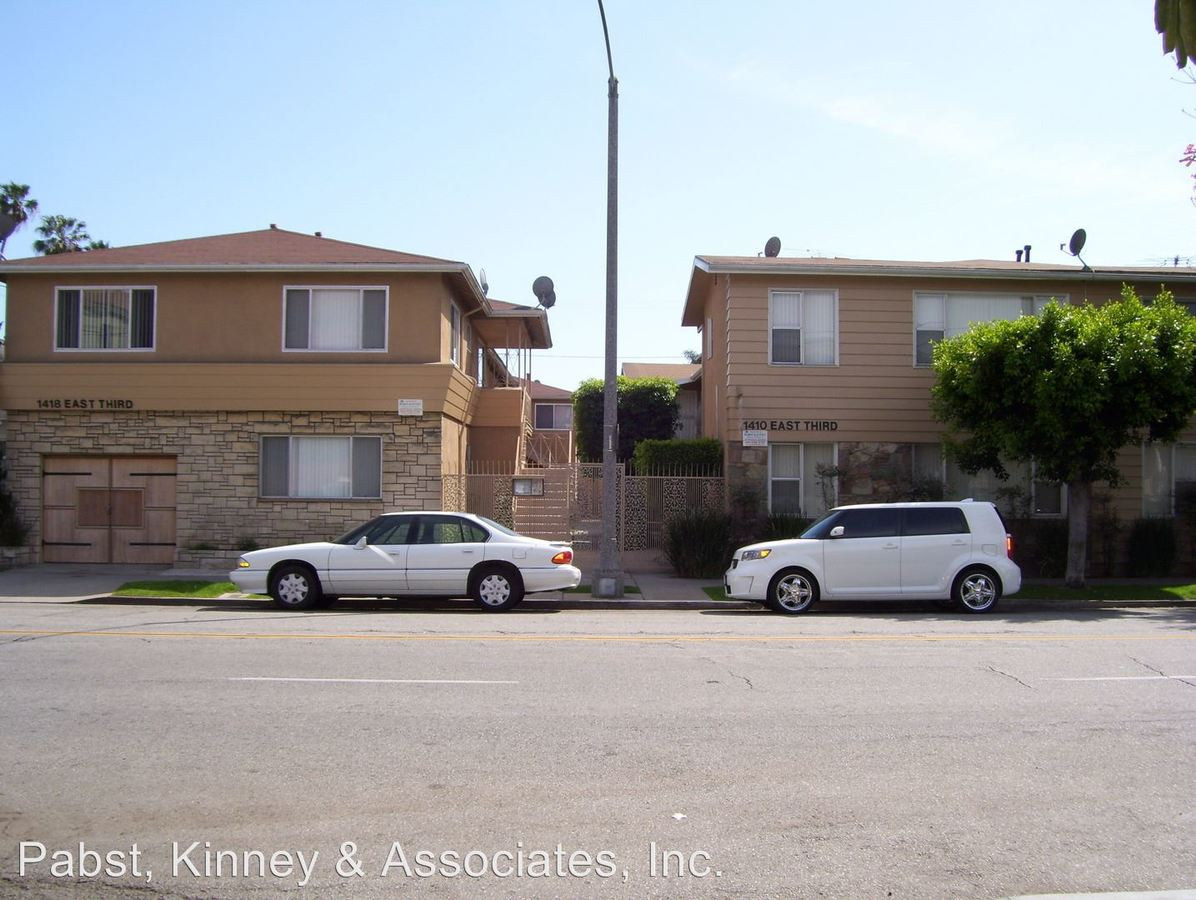 1 Bedroom 1 Bathroom Apartment for rent at 1410 & 1418 E 3rd St. in Long Beach, CA